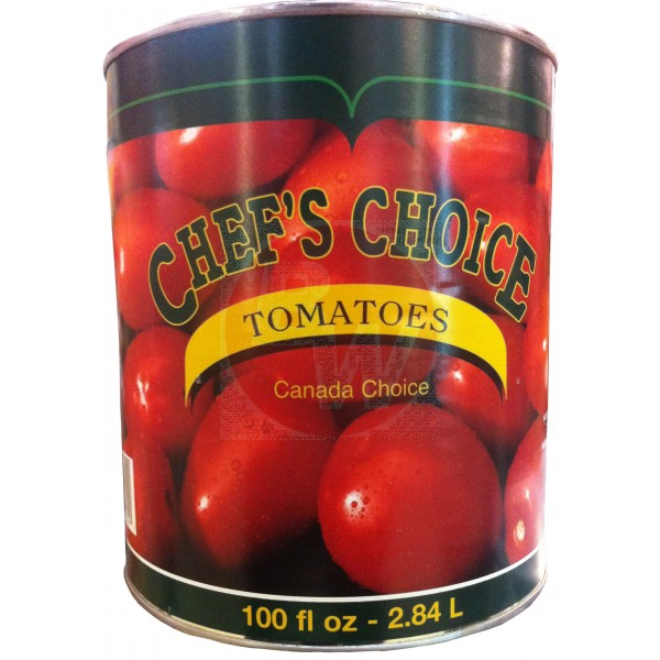 Chef's Choice - Whole Tomato 6x100oz