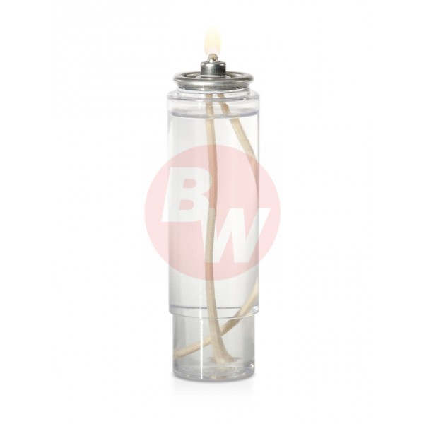 "L-Glow - 425 - Liquid Wax Candle 5""Hx1.5""W, 25 Hrs Cartridge 48/Case"