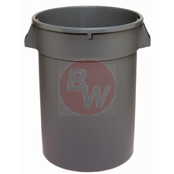 Dynapak - 32 Gallon Grey - Dyna Round Waste Container 1 UNIT/Each