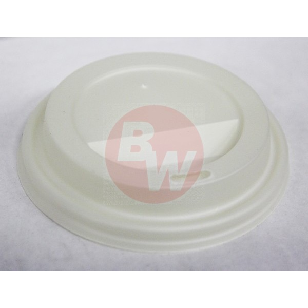 Bio-Sposables - ECODL-8 - Lid For 8 Oz Hot Paper Cup 1000/Case