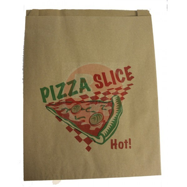 Atlas - #00840 - Pizza Slice Bag Printed 500/Case