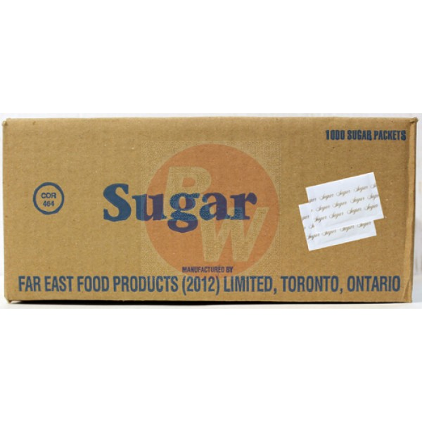 Wing's - 2060 - Sugar Portions 1000/Case