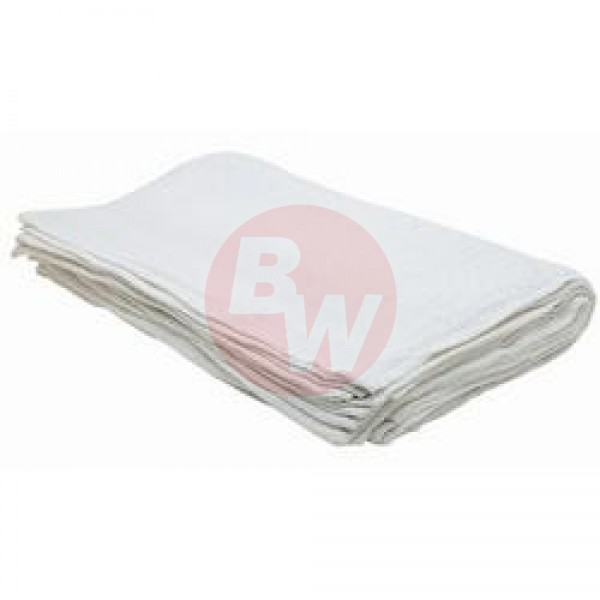 "Johnson Rose - 16""x19"" White - White Bar Towels 12/Pack"