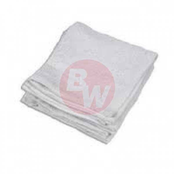 "Amber - 16""x19"" White - Terry Cloths With Line 12/Pack"