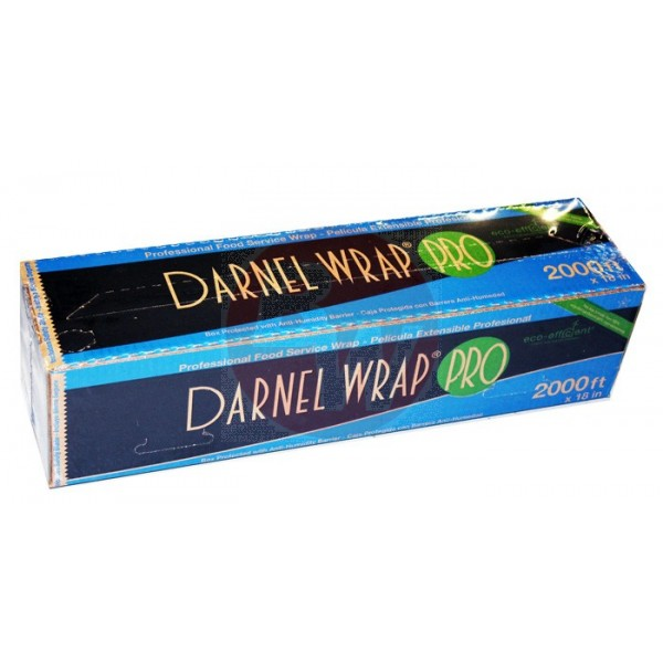 "Darnel - SDPJ18-2000F - 18""X2000' Food Wrap With Cutting Edge Dispenser 1 ROLL/Pack"