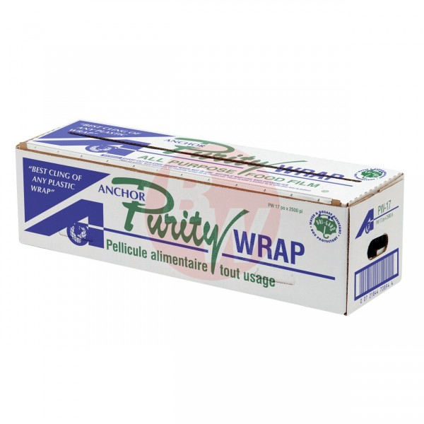 "Purity - PW-17 - 17""X2500' Food Wrap With Cutting Edge Dispenser 1 ROLL/Pack"