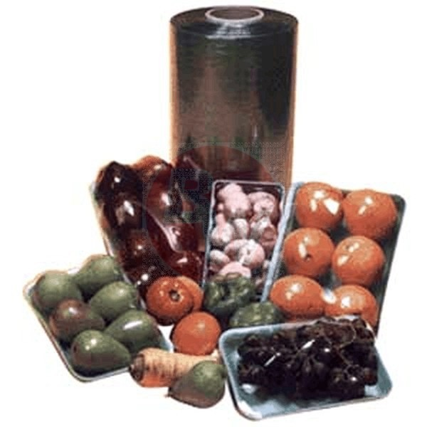 "Western Plastics - PW1839 - Produce Wrap Film 18""X3900' 1 UNIT/Roll"