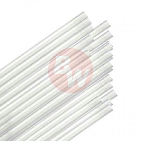 "Touch - 92-0369 - 10"" White Straw Regular 9X500/Case"