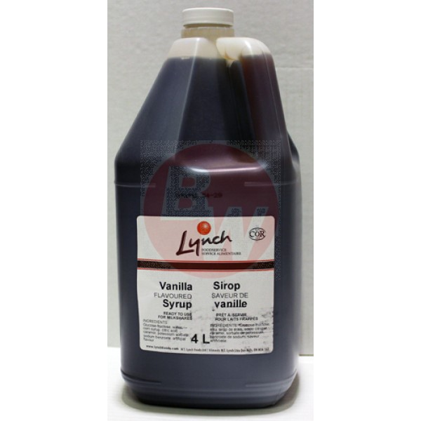 Lynch Foods - Vanilla Syrup 4L
