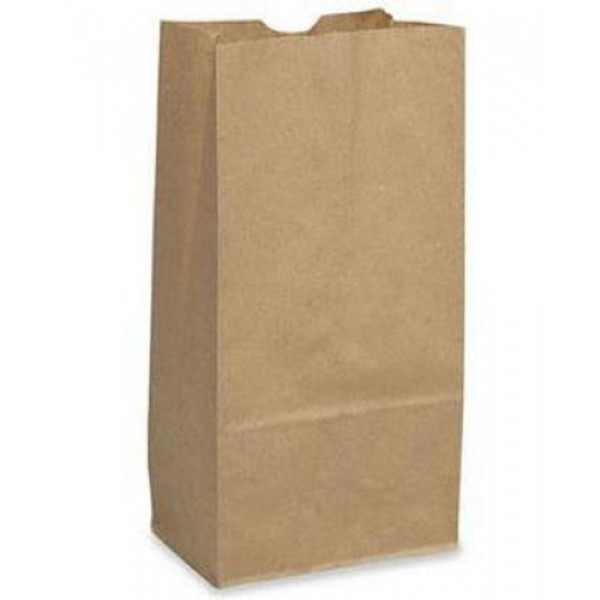 Krown - #12 - Kraft Paper Bag 12Lb 500/Pack
