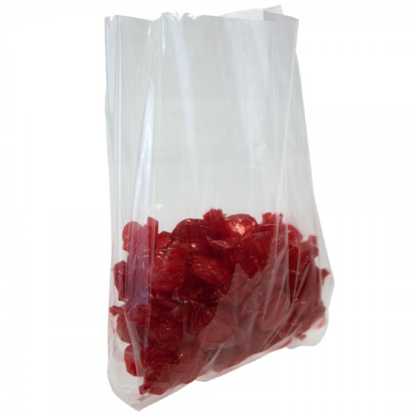 Amber - 6 lbs - Poly Bags Gusseted 500/Pack