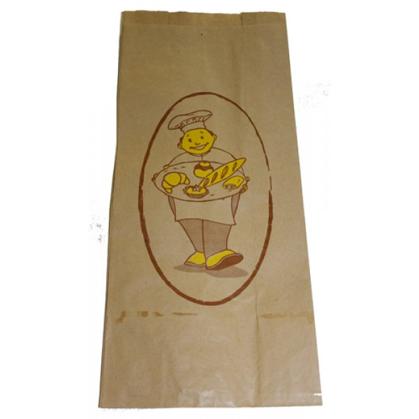 Atlas - 7 X 4 X 16 - Bread Bag Printed Medium 1000/Case