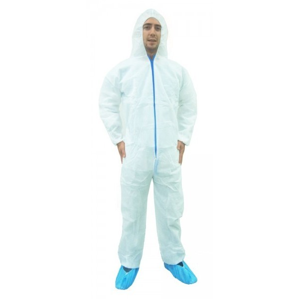 Ronco - 391402XL - White Coveralls 1/Each