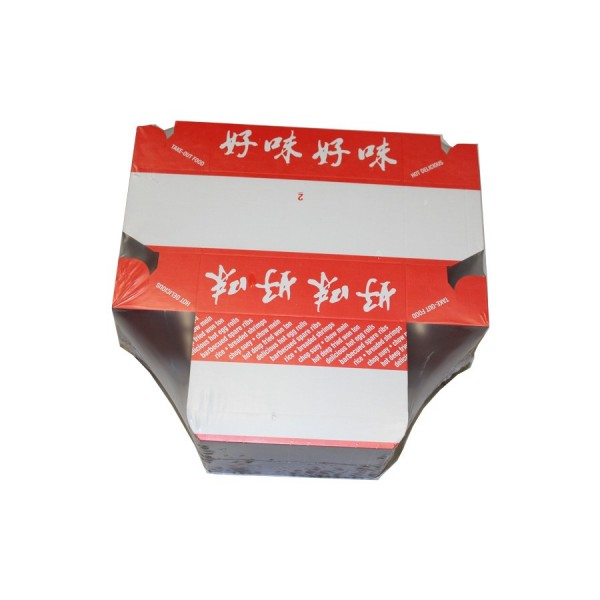 E.B Box - #2 - Chinese Take Out Box 5.5X2.75X1.75 200/Case