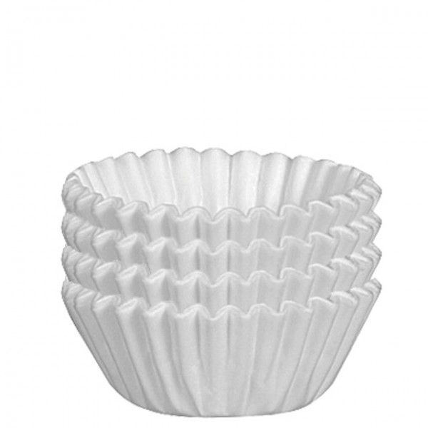 "Enjay - 2.1/8""X17/8""X4.5"" - Large Baking Cups White 500/Pack"