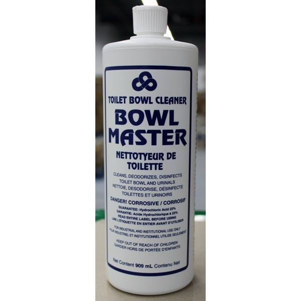 Crown - 1530.18 - Bowl Master Toilet Bowl Cleaner 909ML/Each