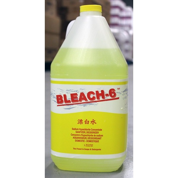 Bleach-6 -  - Commercial Bleach 4X4L/Case