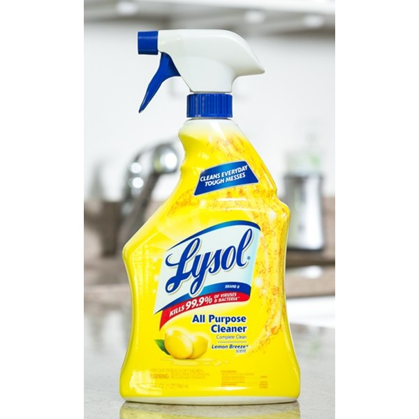 Lysol - 50305 - Lysol All-Purpose Cleaner Trigger Spray - Lemon Scent 650ML