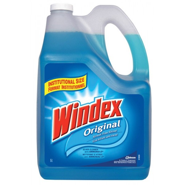 Windex - CB006722 - Window Cleaner Refill 4X5L/Case