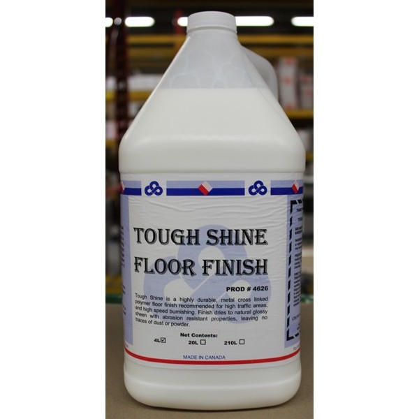 Crown - 4626.30 - Tough Shine Floor Finish 4X4L/Case