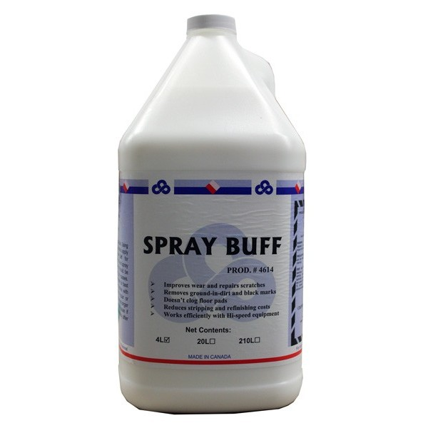 Crown - 4614.30 - Spray Buff Liquid 4X4L/Case