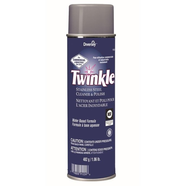 Twinkle - 91224 -  Stainless Steel Polish Aerosol 482G/Each