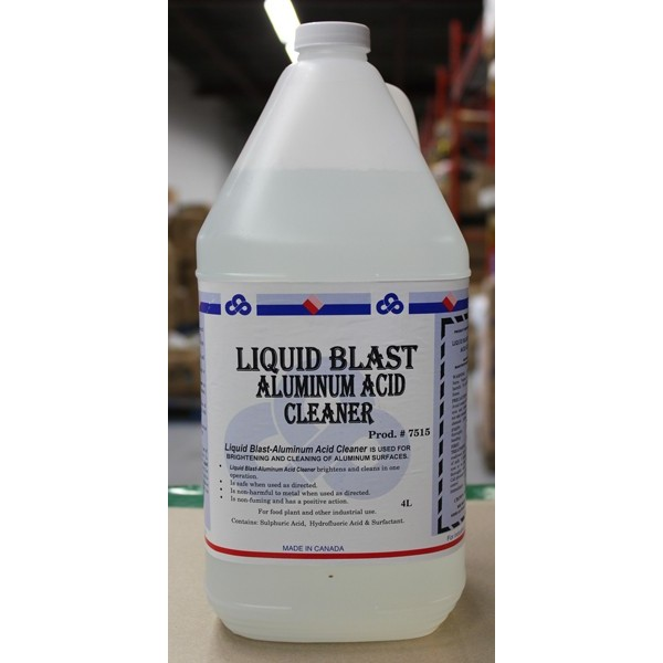 Crown - 7515.30 - Liquid Blast - Aluminum Acid Cleaner 4X4L/Case