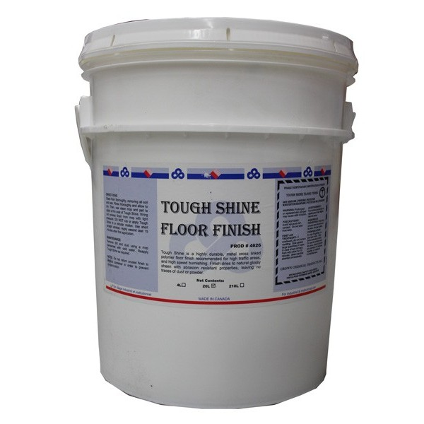 Crown - 4626.35 - Tough Shine Floor Finish 20L/Pail