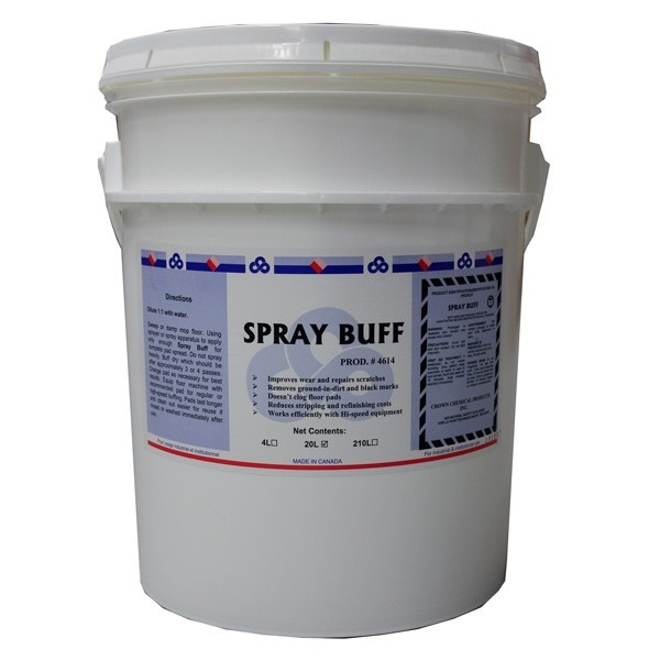 Crown - 4614.35 - Spray Buff Liquid 20L/Pail