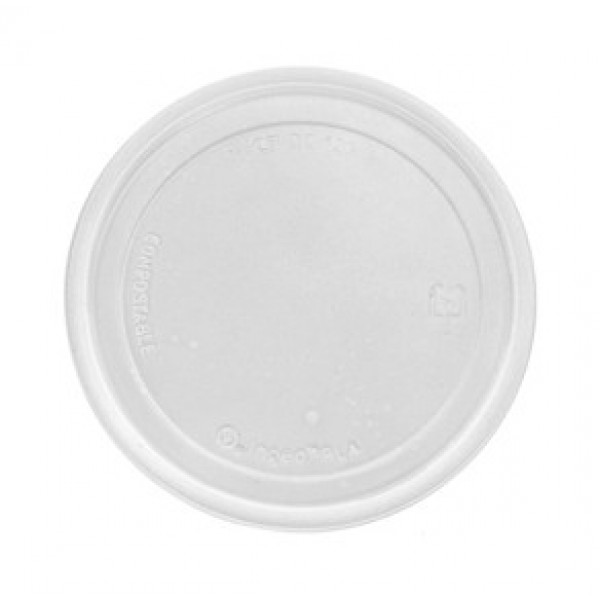 Maple Leaf - H8 - Lid For 8-32 Deli Containers, Clear 500/Case