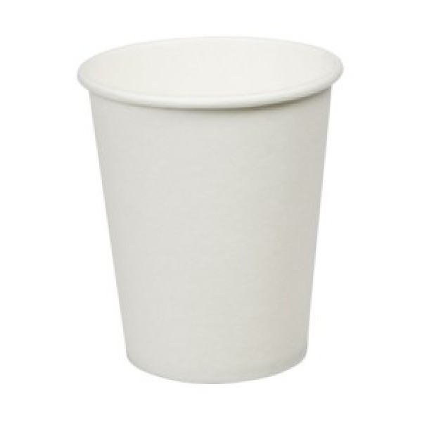 Somi - 1H16W - 12 Oz Hot Paper Cup White Plain 1000/Case