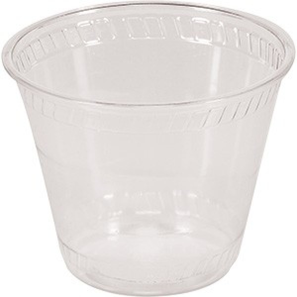 Bio-Sposables - CF 9510 - 9 Oz Pla Clear Cup Old Fashion 1000/Case