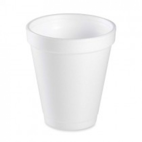 Genpak - 800M - 8 Oz Foam Cup White 1000/Case