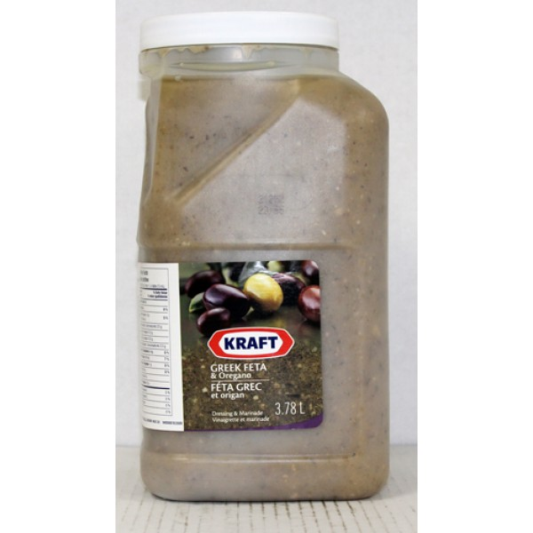 Kraft - Greek Feta / Oregano Dressing  2x3.7L