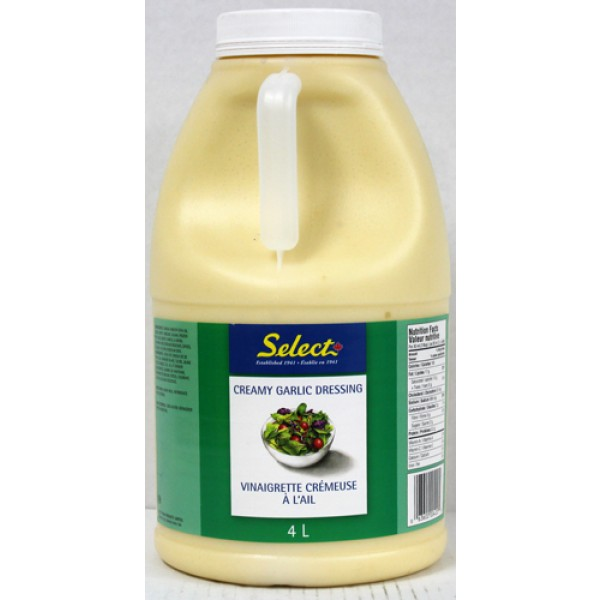 Select - Creamy Garlic 2 x 4L