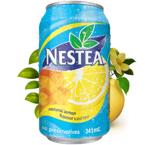 Nestea® - Lemon Iced Tea - 341ml Cans x 24 Pack