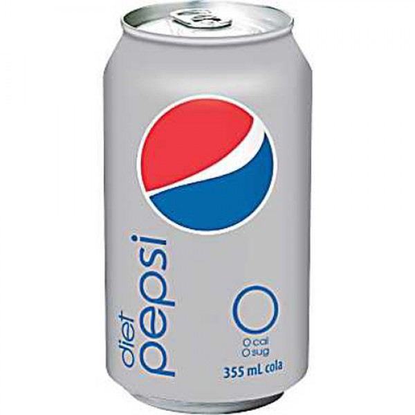 Diet Pepsi Cola - 355ml Cans x 24 Pack