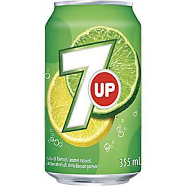7UP - 355ml Cans x 24 Pack