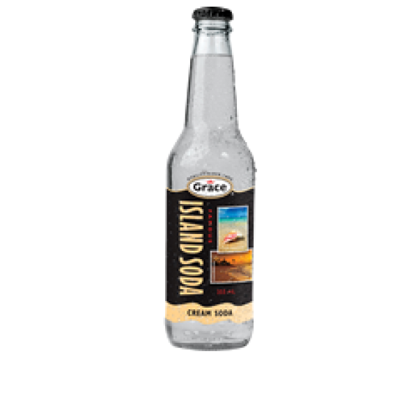 Island Soda - Cream Soda 12 x 355ml