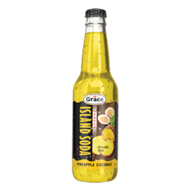 Island Soda - Pineapple Coconut 12 x 355ml