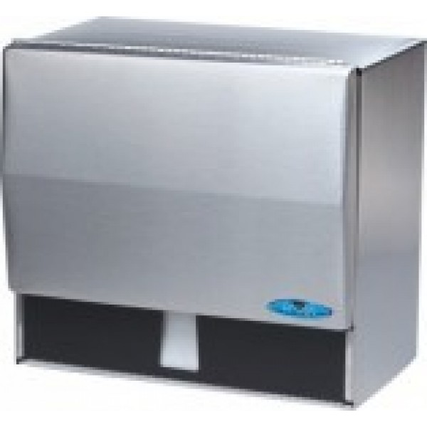 Frost - 103 - Dispenser For Single Fold Towel Sheets, Stainless Steel 1 UNIT/Each