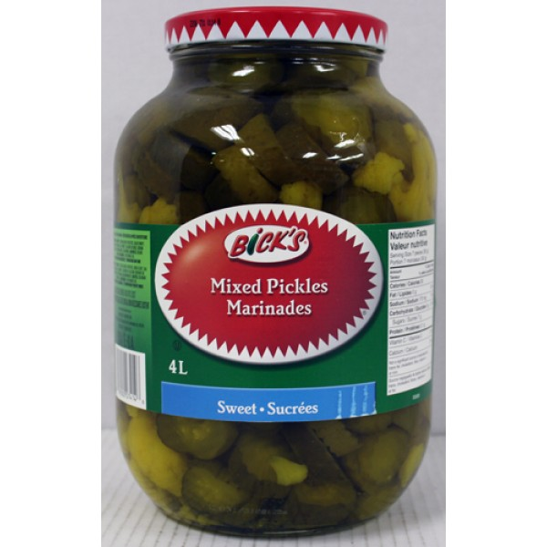 Bick's - Sweet Mixed Pickles 4L