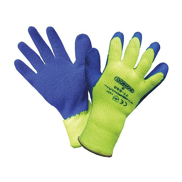 Ronco - 77-600-09 - Large Thermal #77-600 Latex Coated Cold Resistant Gloves 12 PAIR/Pack