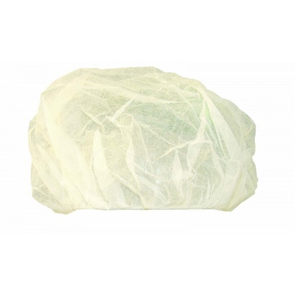 """Ronco - 170-21 - 21"""" Bouffant Caps (White Only) 100/Pack"""