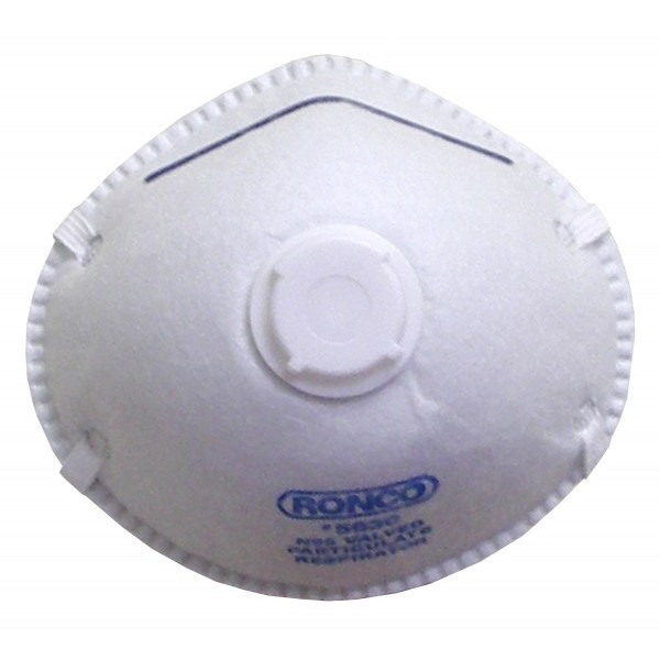 Ronco - 5630 - Dust Mask Valve Style - Particular Respirator 10/Pack