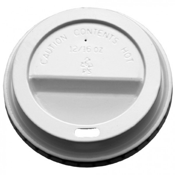 Gogo - HD10/24W 20-902 - White Dome Lid For 10-20 Oz Cup 1000/Case