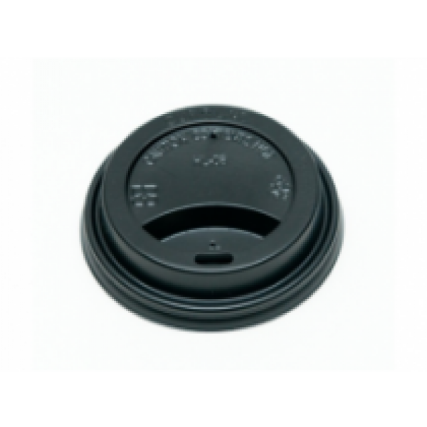 Gogo - HD8BK / 20-904 - Black Dome Lid For 8 Oz Cup 1000/Case