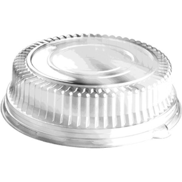 "Sabert - 5512 - High Dome Lid For 12"" Sabert Tray 36/Case"