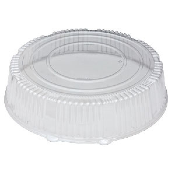 "Wna - A16PETDMHI - 16"" High Dome Lid 25/Case"
