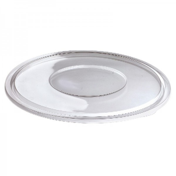Sabert - 51320 - Flat Lid For 320 Oz Bowl - Clear - Pete 25/Case